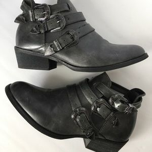 Maurices Cut-out booties